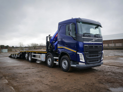 Index volvo fh hydraulic beavertail wagon   drag  1 of 30